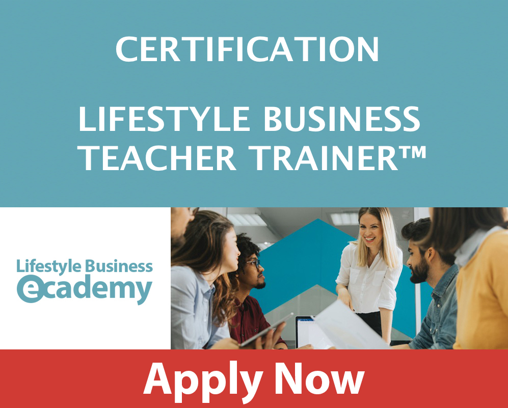 LIFESTYLE BUSINESS ACADEMY TEACHER TRAINER CERTIFICATION