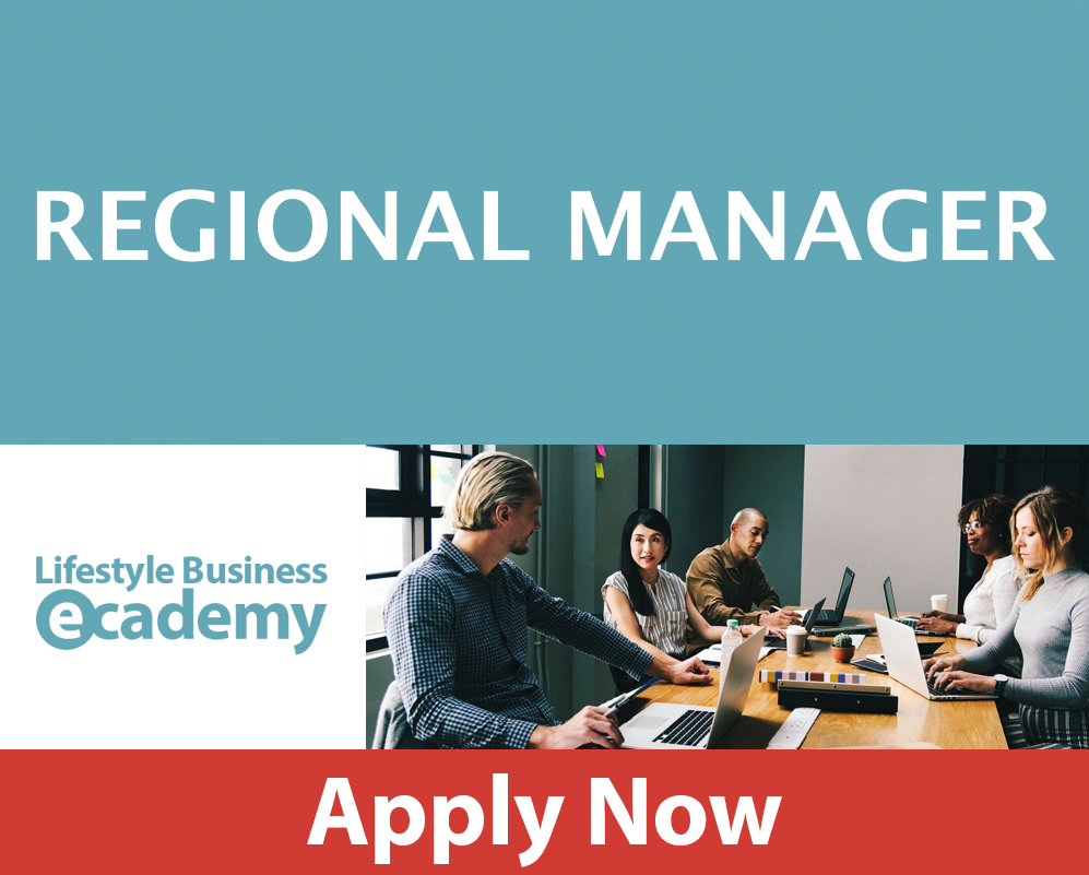 LIFESTYLE BUSINESS ACADEMY REGIONAL MANAGER POSITION